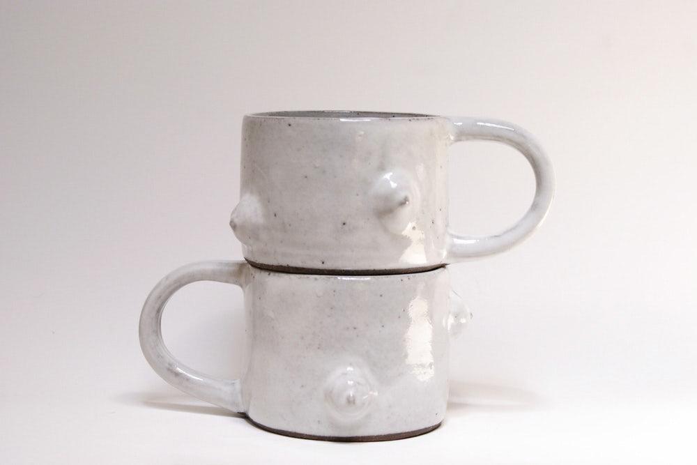 Tri-Boob Mug by Ashley Hardy