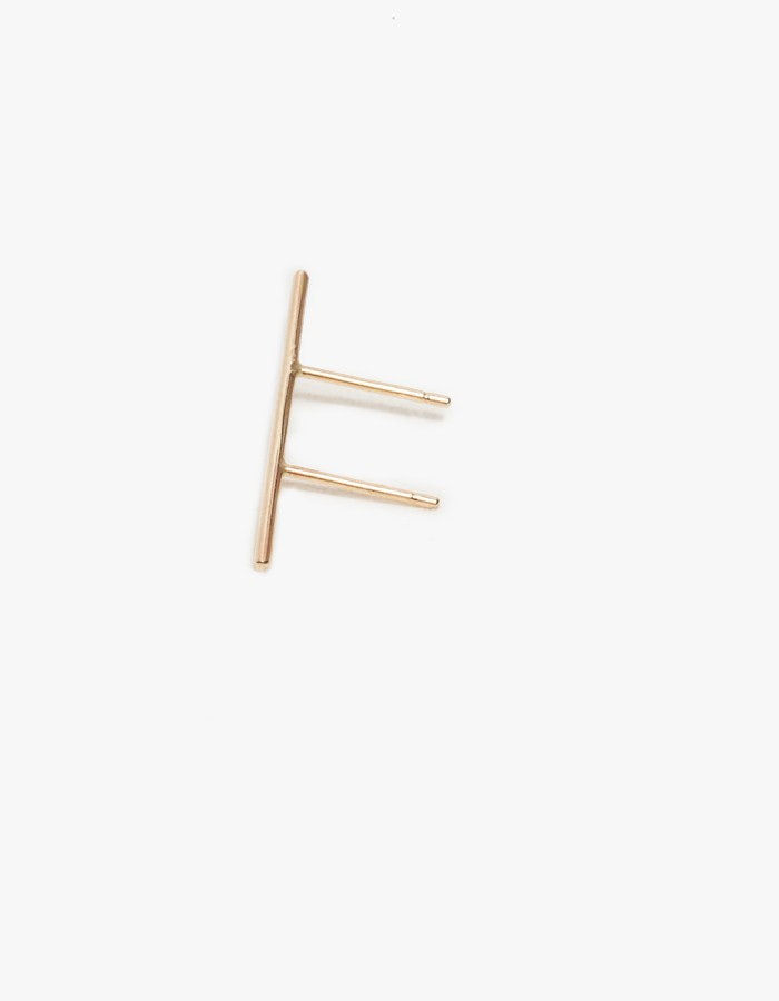 Double Post Stick Earring by Kathleen Whitaker